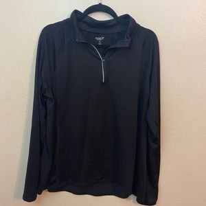 Black Old Navy Go Dry 1/4 Zip Athletic Top Size XL